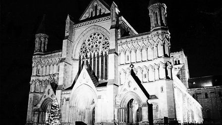 The cathedral on new year's eve (Photo: Rosemary Cooper)