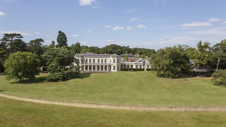 Woolmers Park Estate near Hertford is up for sale