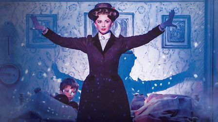 Zizi Strallen as Mary Poppins (Photo by Johan Persson)