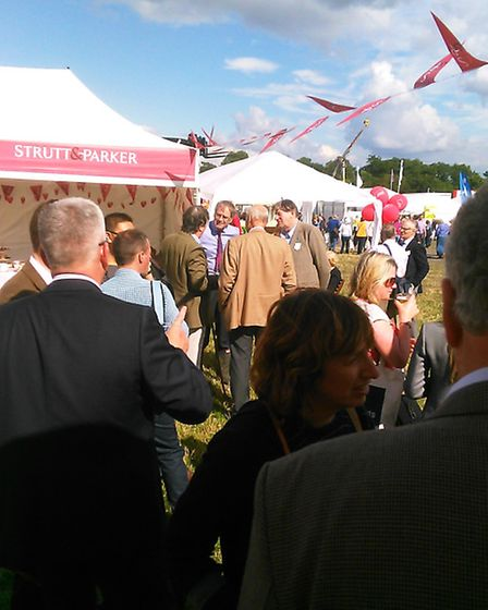 Strutt and Parker at a country show