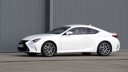 Lexus RC Coupe - aimed at attracting a younger audience to the luxury marque