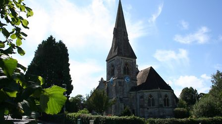 St John's in Hedge End is an attractive Victorian church