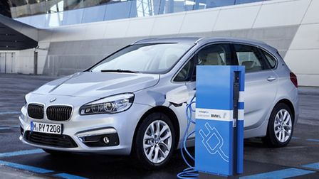 Charging up the BMW 225xe