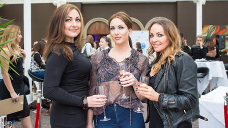 Laura Doyle, Hayley Benson and Kate Russell