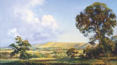 Firle Beacon, by Frank Wootton from E.Stacy-Marks 6500 guineas (£6825 ).