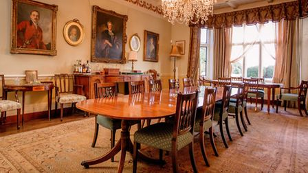 The dining room (Photo by Jim Holden)