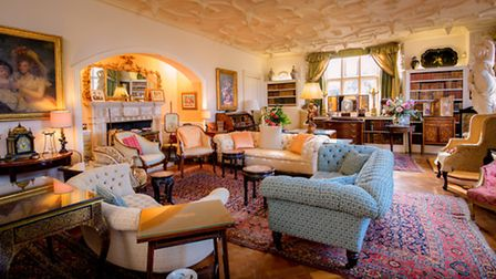 Drawing room at Borde Hill (Photo by Jim Holden)