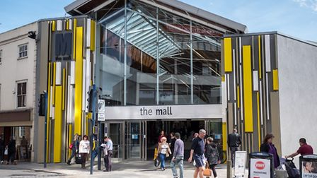 The Mall's £5m refurbishment is due for completion this summer