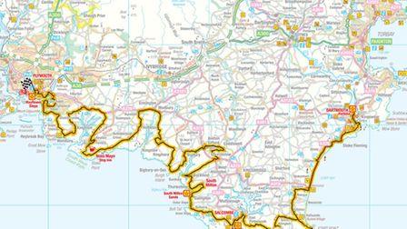 Stage 45- Dartmouth to Plymouth