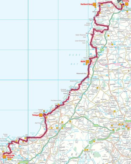 Stage 51- Padstow- Clovelly
