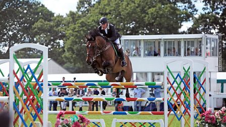 Don't miss the International Show Jumping in the main ring