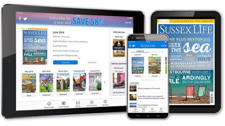 The Sussex Life app