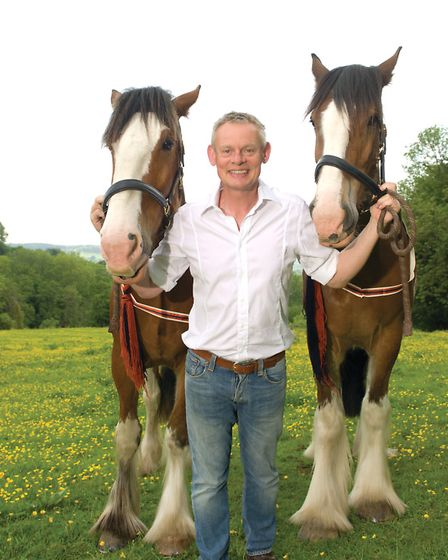 Martin Clunes is well known for his love of horses