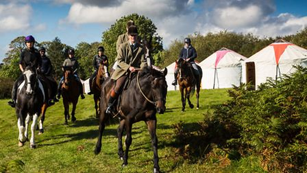 Riders taking part in the Dartmoor Derby will travel in small groups, navigating their way through t