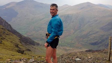 Tim Watson and his beloved Welsh mountains