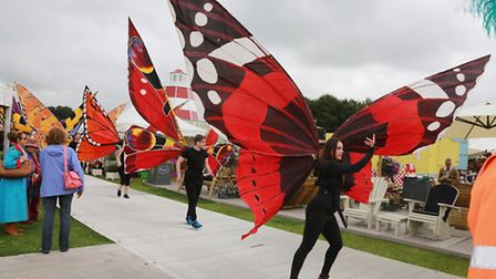 The Great Garden Carnival meanders through the showground