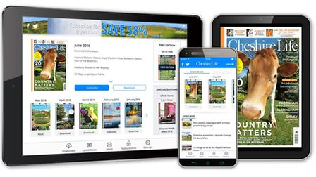 Welcome to the brand new Cheshire Life app!