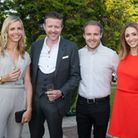 Samantha Holloway, Lawrence Sykes, Alan Halsall and Lucy-Jo Hudson