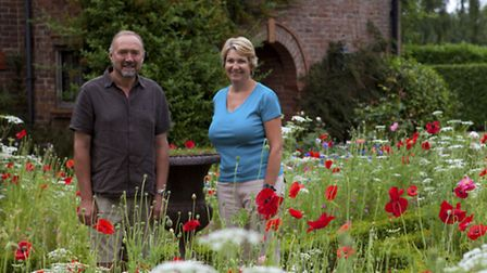 Over time David and Maggie have become keen gardeners