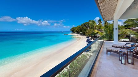 Ocean views from the new Treetop Suite Curlew Balcony at The Sandpiper
