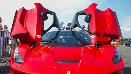 A LaFerrari at last year's Supercar Event (Photo Andy Newbold)