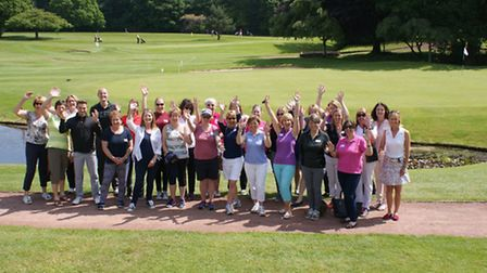 THE Get into Golf Ladies group