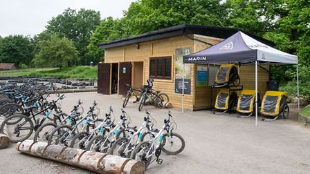 Bike hire is fun, affordable and aimed at the whole family at Bewl