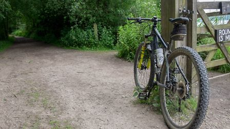 You can get round the reservoir on foot or many choose an exhilarating bike ride