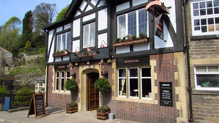 A lovely watering hole - The Holly Bush in Bollington centre