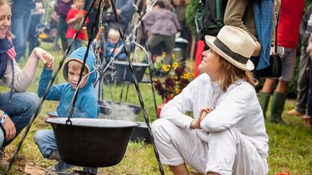 Cerys Matthews at The Good Life Experience