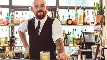 Nick Fox founder of Manchester Loves Cocktails