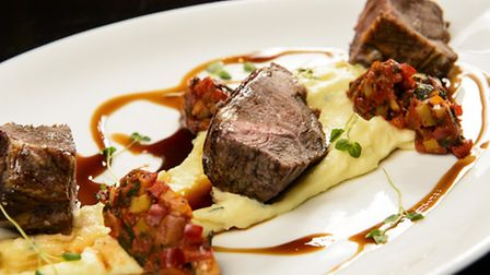 Dine well at The Walled Garden Bistro