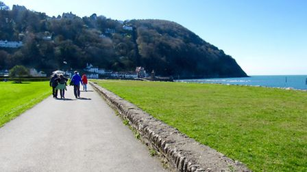 Heading back into Lynmouth