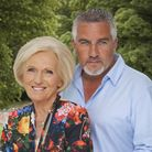 Mary Berry and fellow Bake Off judge Paul Hollywood. (Love Productions/Mark Bourdillon)