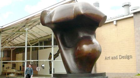 Torso at the Hatfield Art and Design Gallery, University of Hertfordshire