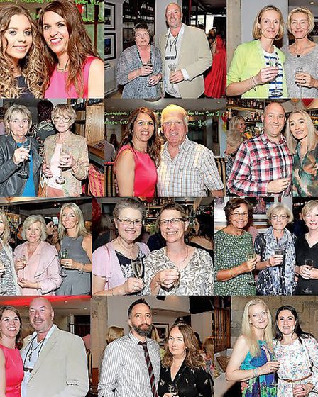 Guests at Beauty Beyond's 10th Birthday party on the 4th July