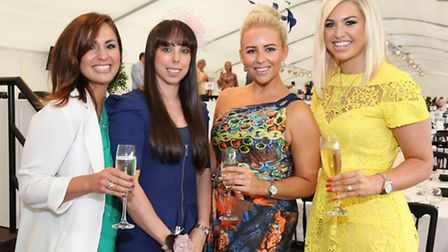 Selena Campbell, Beth Tweddle MBE, Katie Ruocco and Sophie Fairclough
