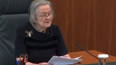Lady Hale ruled Boris Johnson's decision to prorogue parliament as unlawful. Photograph: Supreme Cou