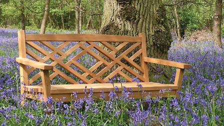 One of the gorgeous pieces of furniture produced by Norbury Park Wood Products, 'The Frensham' (Phot