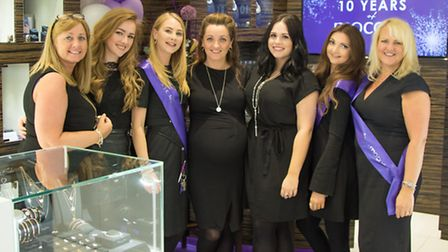 The team at the Mococo Chester store