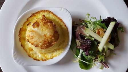 Cheese Souffle at Jesse's