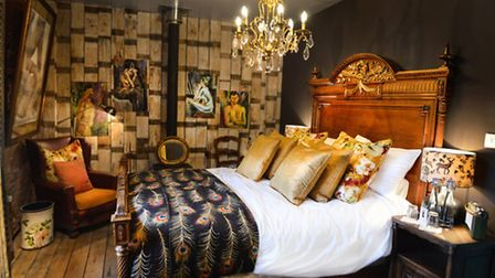 Relax in style in one of the bedrooms at The Roebuck Inn, Mobberley