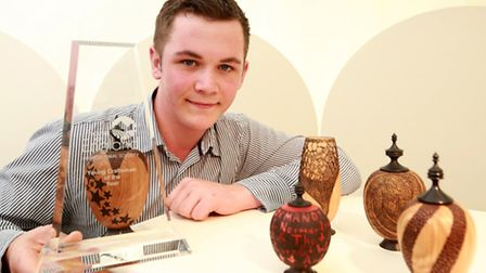 Thomas Streeter, 2015 winner of The Young Craftsmen of the Year competition