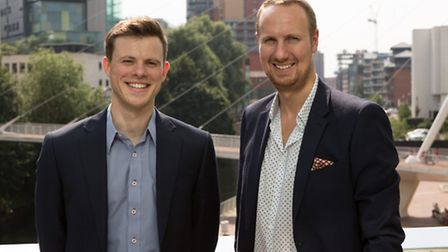 Matt Glossop and Rory Russell, owners of Bloomsbury Music, based in Manchester