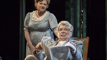 Matthew Kelly and Felicity Montagu as Mr and Mrs Bennet