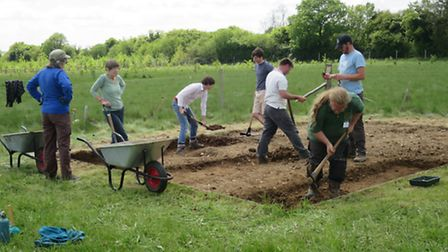 An archeological dig led by the University of Southampton