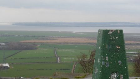 The view from Helsby Hill