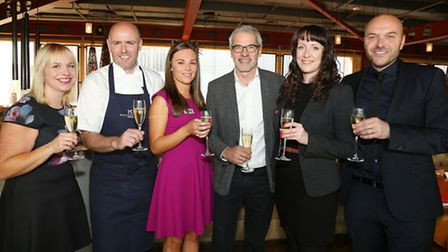 Sharon Mills, Aiden Byrne, Laura McGuinness, Jeremy Roberts, Susie Cuthill and Simon Rimmer