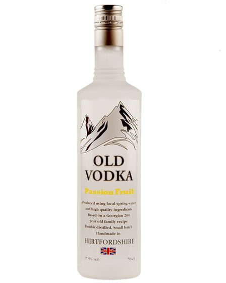 Old Vodka, passion fruit