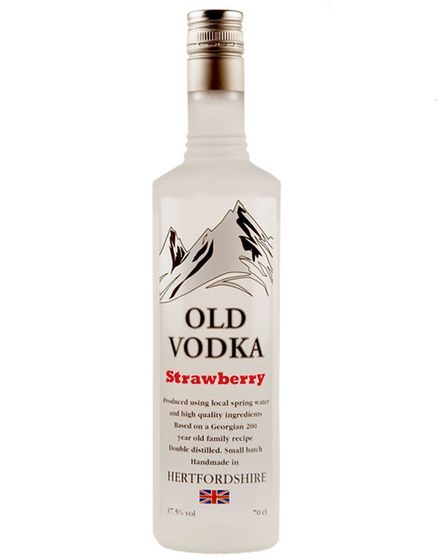 Old Vodka, Strawberry